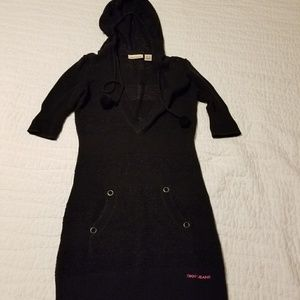 dkny xs sweater dress fits small also